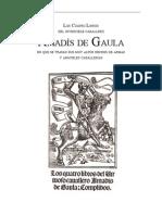 Anónimo - Los cuatro libros del invencible caballero Amadís de Gaula