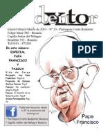 Boletín Parroquial Cristo Redentor nº 33