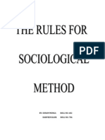 Rules for Sociological Method