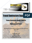 Traval Contractors Supply, Inc. - Heavy Equipment Parts, Service and Repair - 724-523-5553