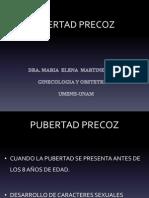 PUBERTAD PRECOZ y RETARDADA.ppt
