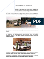 FIM DA BRIGADA DE TRÂNSITO E SUA CARACTERIZAÇÃO