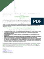2013 Fairview on the Green Sponsorship Letter