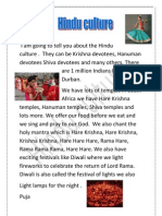 Durban Hindu Culture