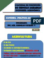 Politica Agraria i Parte