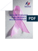 GUIA- De Cuidados Para Mujeres Mastectomizadas