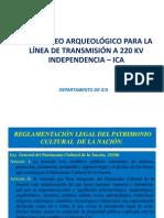 Induccion Arqueologia Inpendencia Ica