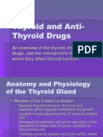 Thyroid and Anti-Thyroid DrugsDRUGS