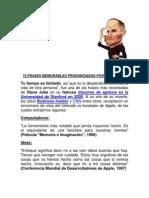 10 Frases Memorables Pronunciadas Por Steve Jobs - El Genio de Las TICS