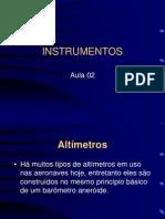 Aula 02 de Instrumentos