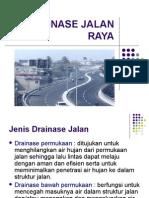 Drainase Jalan Raya