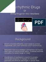 Antiarrythmic Drugs