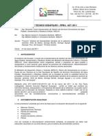 20del alcantarillado sanitario de la cabecera cantonal naranjal ,cantón narajal, prov. guayas. primera revision