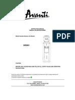 Avanti-wd361 Water Dispenser