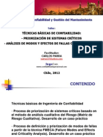 Taller Criticidad Fmeca 2012