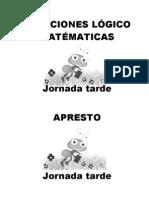 RELACIONES LÓGICO MATÉMATICAS