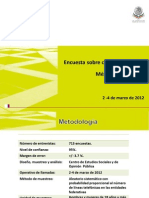 Encuesta Cultura Politica en Mexico 0312