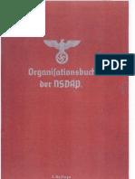 Organisationsbuch Der NSDAP 3. Auflage 1937 678 S. Scan Fraktur