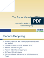 Virginia Recycling Presentation on the Paper Markets