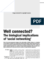 Biological Implication of social Networking