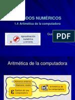 1.4 Aritmetica de La Computadora
