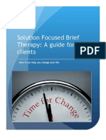 Solution Focused Brief Therapy Guide for Clients