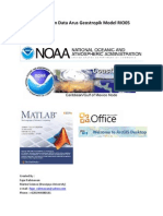 Pengolahan Data Arus Geostropik Model RIO05