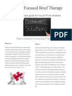 Solution Focused Brief Therapy Guide for Students