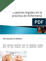 aspectoslegalesenlapracticadeenfermera-111221222017-phpapp02.ppt
