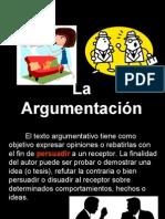 presentación argumentación