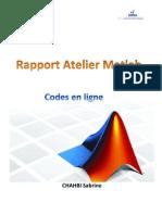 Rapport Matlab CHAHBI