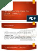 Plantas generadoras de vapor - calderas.pptx