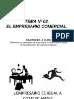 Tema n 02- El Empresario Comercial
