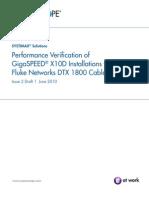Fluke DTX 1800 Guide