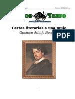 Becquer, Gustavo Adolfo - Cartas Literarias a Una Mujer