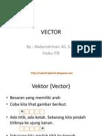 Materi Vektor