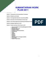 UN OCHA's Nepal Humanitarian Workplan 2011