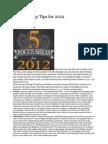 5 Leadership Tips for 2012
