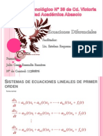 Unidad 5- Ecuaciones Diferenciales