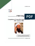 CIA FBI's Bin Laden Statements 1994-2004