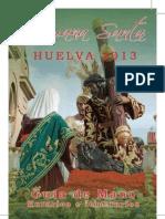 Itinerarios Huelva 2013