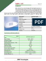 LED Street Lights LU1 Specifications