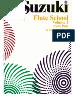 Suzuki Flute School - Volume 1