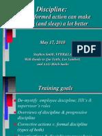 Discipline Training OpCom May 201010