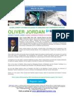 Caribbean Conference on Business Forensics 2013 BIO OLIVER JORDAN