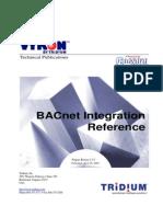 Bacne t Integration Ref