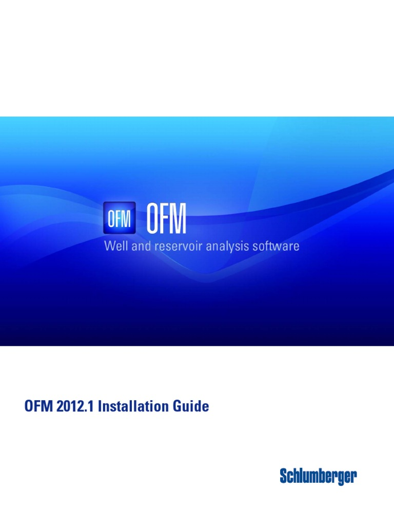 OFM_InstallationGuide | Installation (Computer Programs) | Computer File