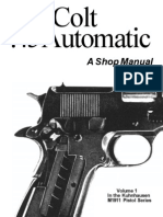 The Colt .45 Automatic - A Shop Manual Vol.1 by Kuhnhausen