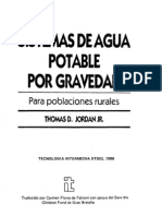 Sistemas Agua Potable Gravedad Poblaciones Rurales