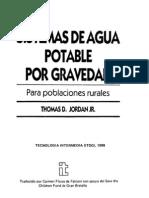 Sistemas Agua Potable Gravedad Poblaciones Rurales
